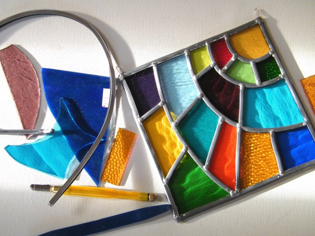 Leaded Stained Glass. Introductory Stained Glass