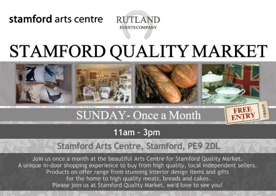 Stamford Quality Market @ Stamford Arts Centre | Stamford | United Kingdom