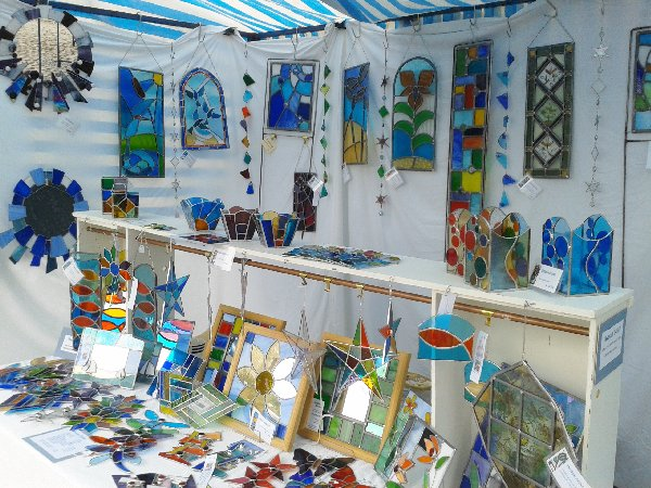 Shedg;as Design at Lincoln BIG Artists Market July 2014
