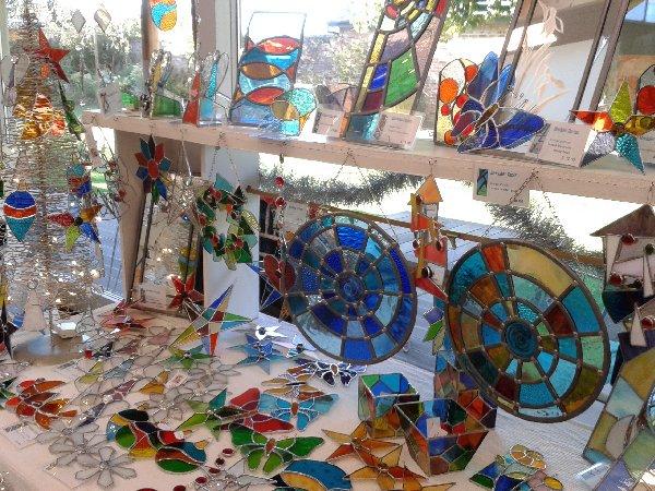 Shedglas Design at Doddington Hall November 2014