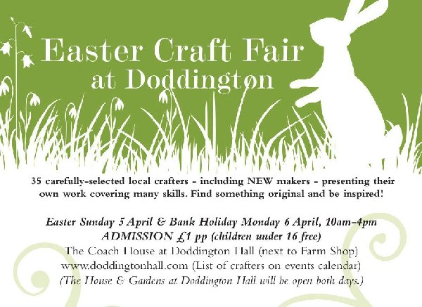 Doddington Hall Easter Craft Fair
