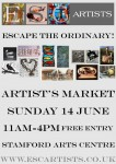 ESCartists Pop-Up Art Market