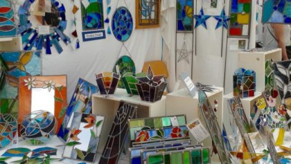 Shedglas Design at Lincoln BIG Artists Market