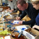 Introductory stained glass copperfoil workshop